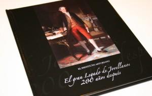 """Libro exposición """"El gran Legado de Jovellanos 200 años después""""."""