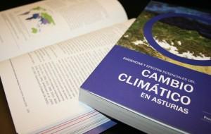 """Libro """"Evidencias y efectos de cambio climático en Asturias"""""""