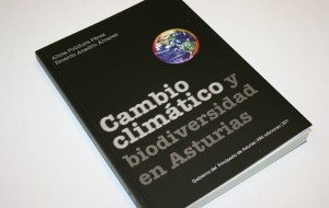 """Libro """"cambio climático y biodiversidad en Asturias""""."""