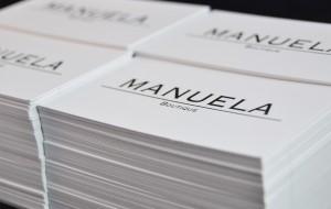 Tarjeta corporativa Manuela Boutique
