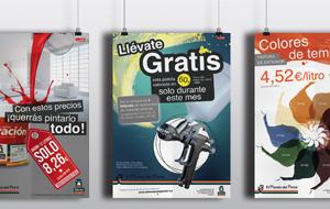 Carteles promociones El Mundo Del Pintor