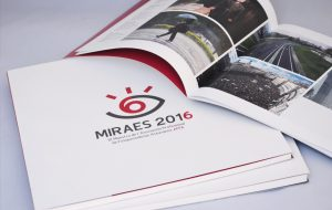 "Catálogo y folleto para ""Miraes 2016"""