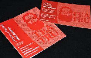 """Imagen y aplicaciones para """"I Premiu y festival Nel Amaro"""" de teatro"""